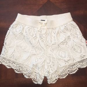 Lucky 🍀 Brand lace shorts